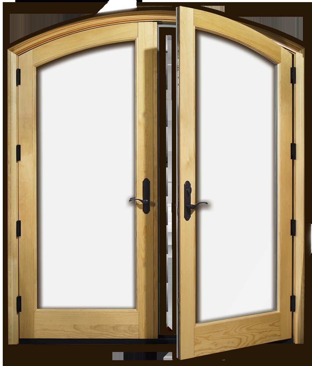 Wood And Aluminum Doors